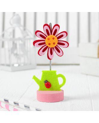 """Визитница-прищепка """"Весенний цветок"""" арт. СМЛ-13240-1-СМЛ3659794"""