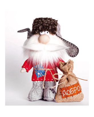 """Набор для шитья текстильной игрушки """"Домовой"""" 17 см арт. СМЛ-13344-1-СМЛ3668684"""