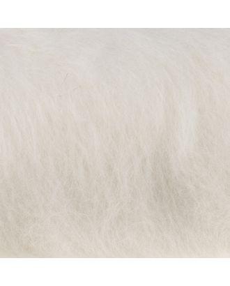"""Шерсть для валяния """"Кардочес"""" 100% полутонкая шерсть 100гр (205 белый) арт. СМЛ-29422-1-СМЛ3672403"""