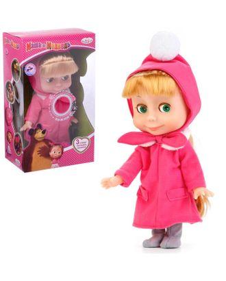 Интерактивная кукла «Маша», рассказывает стихи, потешки, поёт песенку, 25 см арт. СМЛ-105638-1-СМЛ0003676724