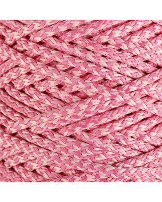 Шнур для вязания с сердечником 100% полиэфир, ширина 5 мм 100м/550гр (142 т. серый) арт. СМЛ-40118-25-СМЛ0003677860