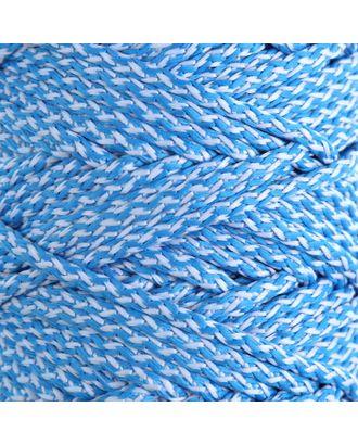 Шнур для вязания с сердечником 100% полиэфир, ширина 5 мм 100м/550гр (142 т. серый) арт. СМЛ-40118-22-СМЛ0003677861