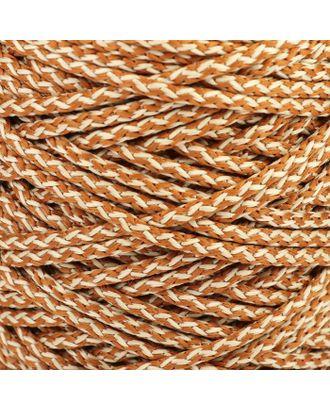 Шнур для вязания с сердечником 100% полиэфир, ширина 5 мм 100м/550гр (142 т. серый) арт. СМЛ-40118-20-СМЛ0003677863