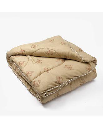 Одеяло Овечья шерсть 140х205 см, файбер, п/э 100% арт. СМЛ-32999-1-СМЛ3680375