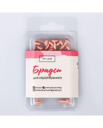 Набор брадсов «Розовые облака» , 8.8 × 4.8 × 0.8 см арт. СМЛ-13653-1-СМЛ3689656