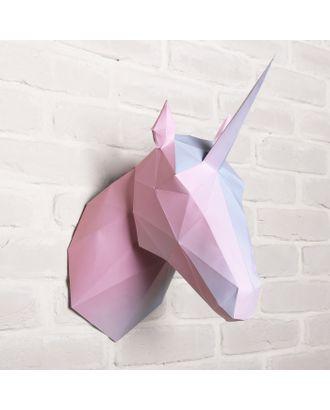 Набор для создания полигональной фигуры «Единорог», 32,5 х 44 см арт. СМЛ-32448-1-СМЛ3689664