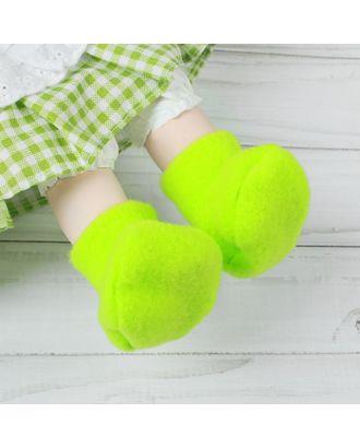Носки для куклы, длина стопы 7 см арт. СМЛ-23699-6-СМЛ3704716