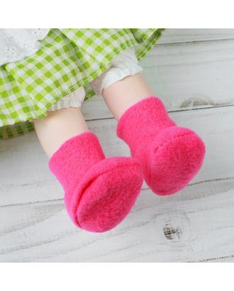 Носки для куклы, длина стопы 6 см арт. СМЛ-23698-2-СМЛ3704829