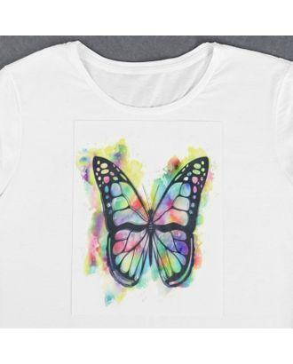 Пришивная аппликация «Бабочка», 3D, 27 × 20 см арт. СМЛ-13990-1-СМЛ3710512