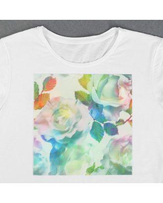Пришивная аппликация «Розы», 3D, 24 × 24 см арт. СМЛ-13996-1-СМЛ3710568