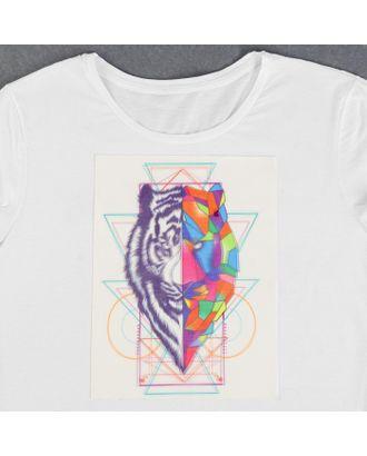 Пришивная аппликация «Геометричный тигр», 3D, 27 × 20 см арт. СМЛ-13998-1-СМЛ3710620