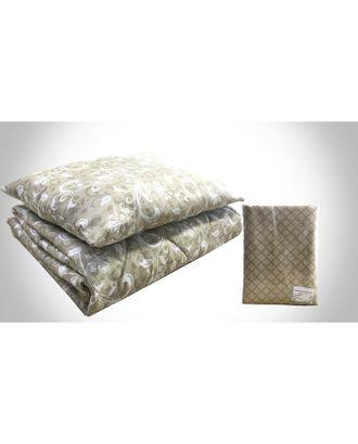 Комплект «Рабочий»: постельное бельё 1,5 сп; подушка 50х70 см; одеяло 140х205 см, цвет МИКС, синтепон (100г/м) арт. СМЛ-32795-1-СМЛ3712577