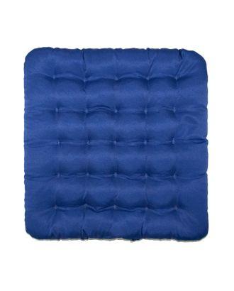 Подушка на стул Уют синий 40х40см лузга  гречихи, грета хл35%, пэ65% арт. СМЛ-29118-1-СМЛ3712656