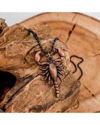 "Кулон унисекс ""Скорпион"" воин, цвет медный, 48 см арт. СМЛ-14091-1-СМЛ3715007"