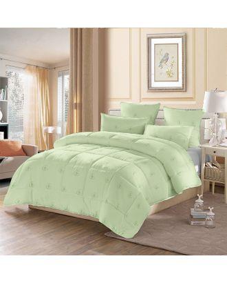 Одеяло стёганое «Бамбук», 140х205 см, чехол полиэстер, наполнитель бамбуковое волокно 110 гр/м2 арт. СМЛ-33014-1-СМЛ3721858