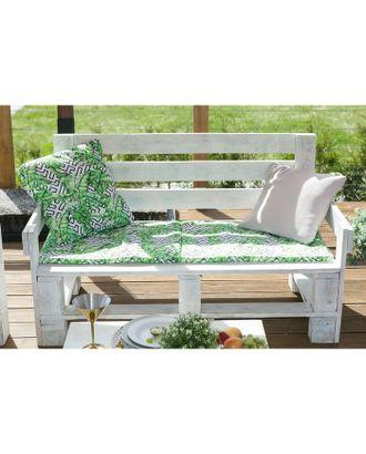 Подушка на трехместную скамейку «Этель» Геометрия, 45×150 см, репс с пропиткой ВМГО, 100% хлопо арт. СМЛ-22978-1-СМЛ3739431