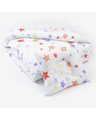 Комплект в кроватку (Одеяло детское, подушка фигурная) Млечный путь арт. СМЛ-14266-1-СМЛ3740126