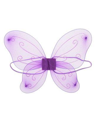 Карнавальные крылья «Фея», цвет фиолетовый арт. СМЛ-121005-1-СМЛ0003740581