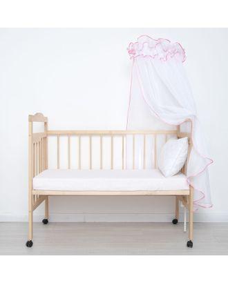 "Балдахин ""Эдельвейс"", размер 170х300 см, цвет розовый арт. СМЛ-26516-1-СМЛ3742166"