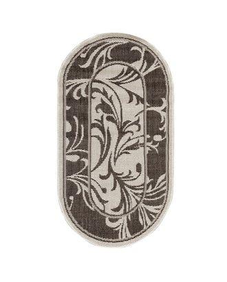 Ковер «Циновка», овальный арт. СМЛ-23851-1-СМЛ3748033