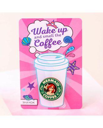 """Значок на подложке """"Coffee"""", Принцессы: Ариэль арт. СМЛ-14306-1-СМЛ3750809"""