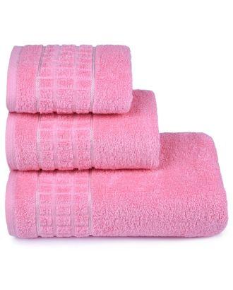Полотенце махровое Megapolis 70х130 см, 14-1911 розовый, хлопок 100% 390 гр/м2 арт. СМЛ-23175-1-СМЛ3751200