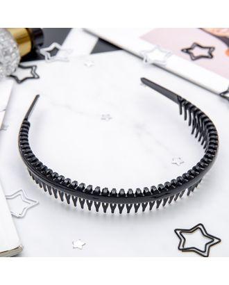 """Ободок для волос """"Гребень"""" 2,3 см арт. СМЛ-34610-1-СМЛ0003763651"""