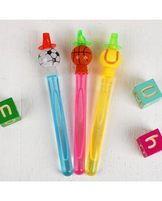 Мыльные пузыри «Спорт», со свистком, МИКС, 60 мл арт. СМЛ-120949-1-СМЛ0003776123
