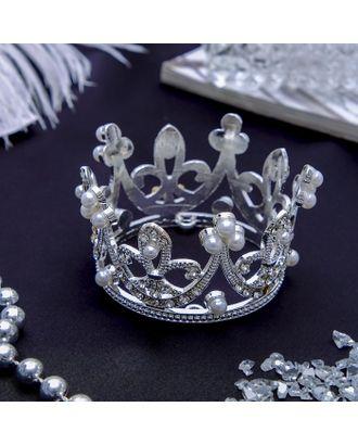 """Диадема для волос """"Королева"""" 5,5*3,5 см, корона арт. СМЛ-36733-1-СМЛ0003784199"""
