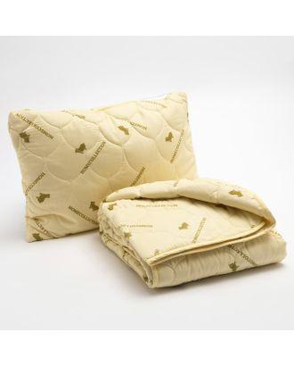 """Набор """"Овечья шерсть"""" в п/э, одеяло размер 110х140 см, 150гр/м2 + подушка 40х60 см арт. СМЛ-33275-1-СМЛ3805171"""