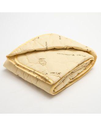 """Одеяло """"Верблюжья шерсть"""" в полиэстер, размер 110х140 см, 150гр/м2 арт. СМЛ-29629-1-СМЛ3805172"""