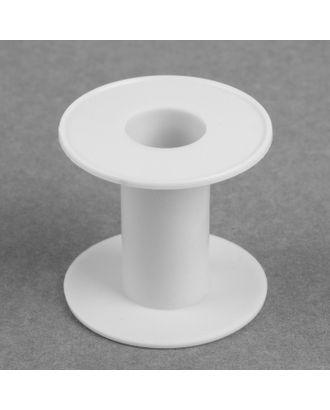 Бобина, 6,4х6 см, d = 2,4 см, цв.белый арт. СМЛ-14611-1-СМЛ3815478