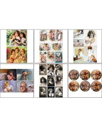 Набор декупажных карт 6 шт «О детях» арт. СМЛ-14682-1-СМЛ3827911