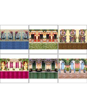 Набор декупажных карт 6 шт «Чайные домики 3» арт. СМЛ-14691-1-СМЛ3828003