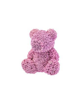 """Силиконовая форма для мыла """"Мишка из роз"""" арт. СМЛ-14797-1-СМЛ3835608"""