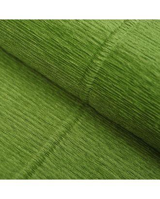 """Бумага гофрированная 622 """"Оливковый зелёный"""", 50 см х 2,5 м арт. СМЛ-34007-1-СМЛ3842104"""