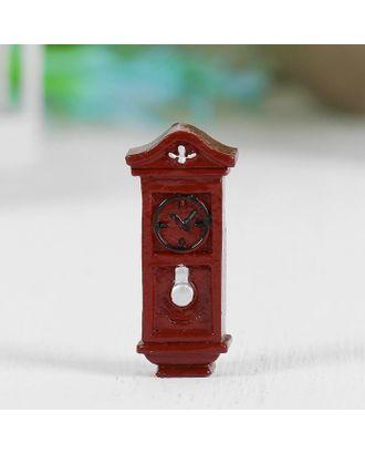 """Миниатюра кукольная """"Часы напольные"""", набор 2 шт, размер 1 шт 3,5х1,6х0,8 см арт. СМЛ-14935-1-СМЛ3851678"""