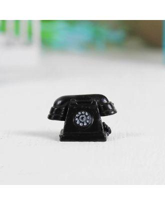 "Миниатюра кукольная ""Телефон"", набор 2 шт, размер 1 шт 2,5х1,5х1,6 см арт. СМЛ-14936-1-СМЛ3851679"