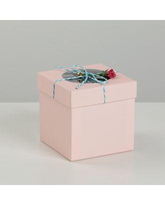Коробка подарочная 11,5 х 11,5 х 11,5 см арт. СМЛ-15026-1-СМЛ3856212