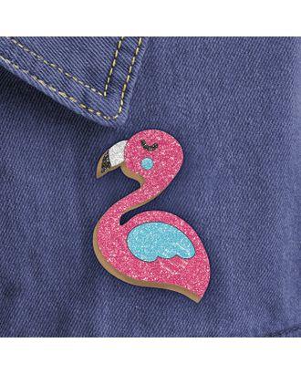 """Фреска, значок """"Розовый фламинго"""" арт. СМЛ-15104-1-СМЛ3862988"""