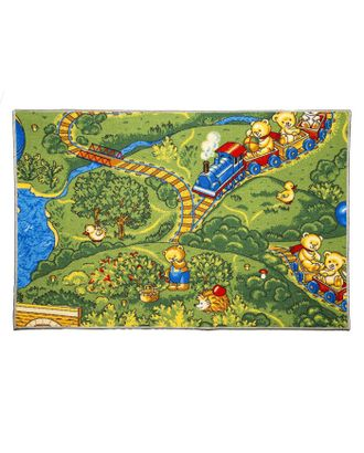 Ковер «Малиновка», 100х150 см арт. СМЛ-23431-1-СМЛ3876697