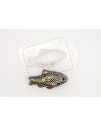 """Пластиковая форма для мыла """"Золотая рыбка"""" 10,5х5,5 см арт. СМЛ-34622-1-СМЛ0003877678"""