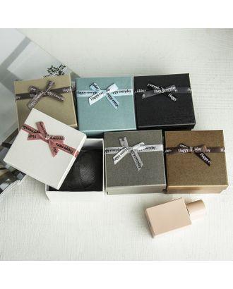 """Коробочка подарочная под набор """"Счастье"""", 13*18 (размер полезной части 12,5х17,5см) арт. СМЛ-23498-4-СМЛ3885173"""