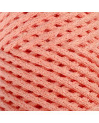 Шнур для вязания без сердечника 100% хлопок, ширина 2мм 100м/95гр (2194 св. розовый) арт. СМЛ-40116-10-СМЛ0003886361