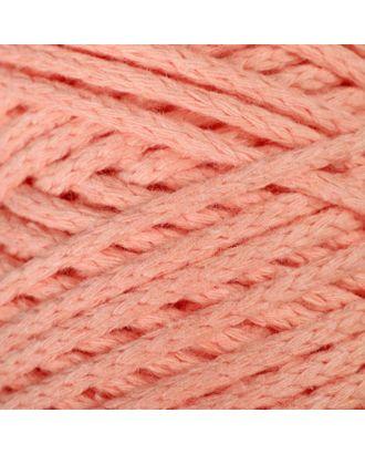 Шнур для вязания без сердечника 100% хлопок, ширина 3мм 100м/250гр (2172 бордовый) МИКС арт. СМЛ-40117-13-СМЛ0003886367