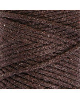 Шнур для вязания без сердечника 100% хлопок, ширина 3мм 100м/250гр (2172 бордовый) МИКС арт. СМЛ-40117-12-СМЛ0003886368