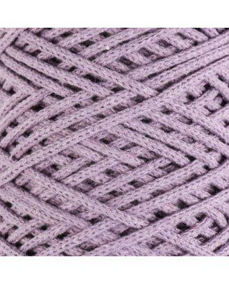 Шнур для вязания без сердечника 100% хлопок, ширина 3мм 100м/250гр (2172 бордовый) МИКС арт. СМЛ-40117-10-СМЛ0003886370