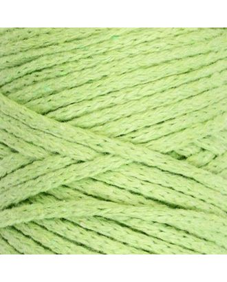 Шнур для вязания без сердечника 100% хлопок, ширина 3мм 100м/250гр (2172 бордовый) МИКС арт. СМЛ-40117-18-СМЛ0003886372