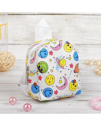 "Рюкзак для куклы ""Улыбочки"" арт. СМЛ-15616-1-СМЛ3903960"