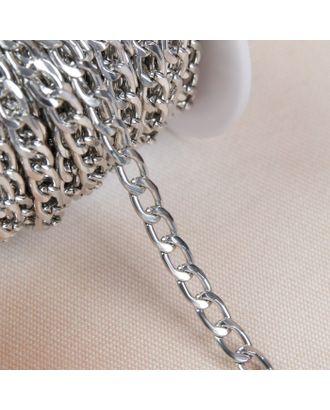 Цепочка для сумки, плоская, 7х9,8 мм, 10±0,5м арт. СМЛ-23643-2-СМЛ3904513